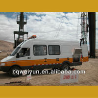 Car Mounted Portable Pipe Hydraulic Pressure Test Equipment for Oilfield Well Logging Operation