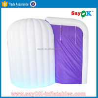 sale cheap free standing inflatable photo booth tent