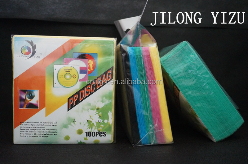 5 Colorful 100micron Folder with CD Sleeves