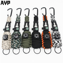 New Products Camping Rope Paracord Fishing Survival Kit for Military