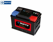 Long service life maintenance free DIN72 12v 72ah car battery