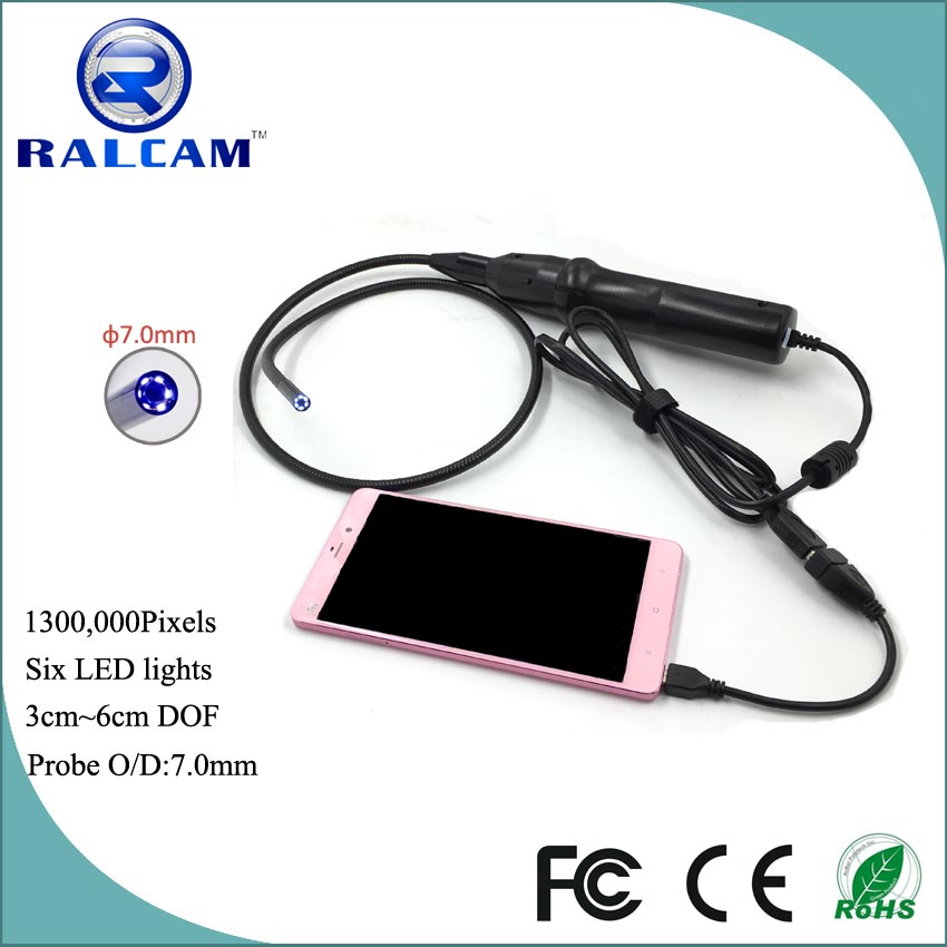 1.3mp 3cm~6cm focal distance endoscope camera android