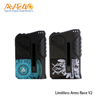 Top Wholesale Products Limitless Arms Race 220W V2 Vape Box Mod