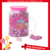 Strawberry Cube Milk Tablet Sweet Square Candy
