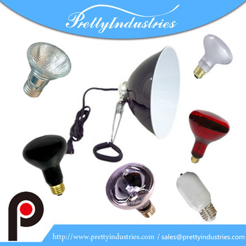 LED heating bulbs for reptile lamp