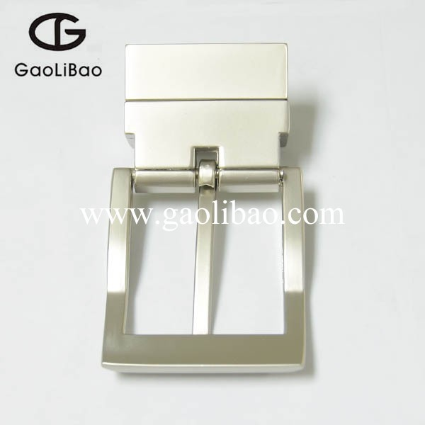 35mm good selling reversible pin belt buckles custom metal buckle for man ZINC ALLOY manufacturers ZK350593