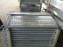 scaffolding galvnaized deck metal planks