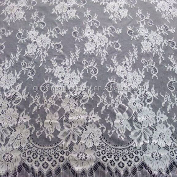 2014 Wholesale Eyelash Lace Fabric