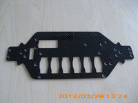 woven carbon fiber plate for RC car