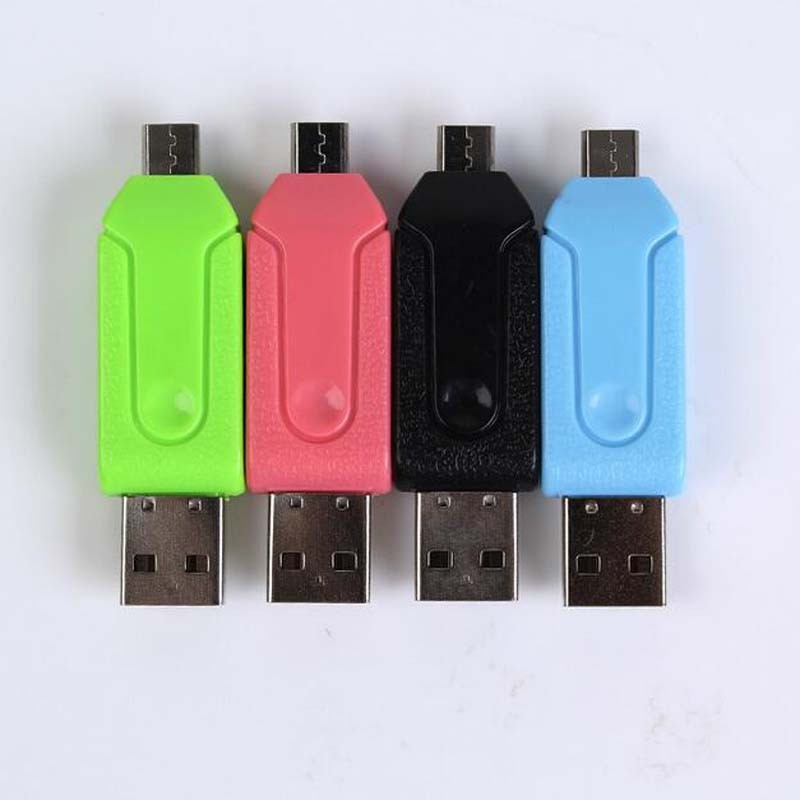 Multi-functional Micro USB OTG Connection Card Reader