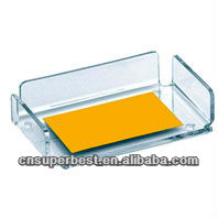 New clear acrylic name card holder