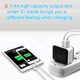 MFi certified US Plug Wall Charger Power Adapter 5V 3.4A Dual USB Home Travel Charger For IPhone 6/6s plus 5 7