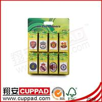 Promotional Top Quality Logo Printed Paper Car Air Freshener