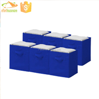 American market 6 pack/unit heavy duty spare parts storage bins