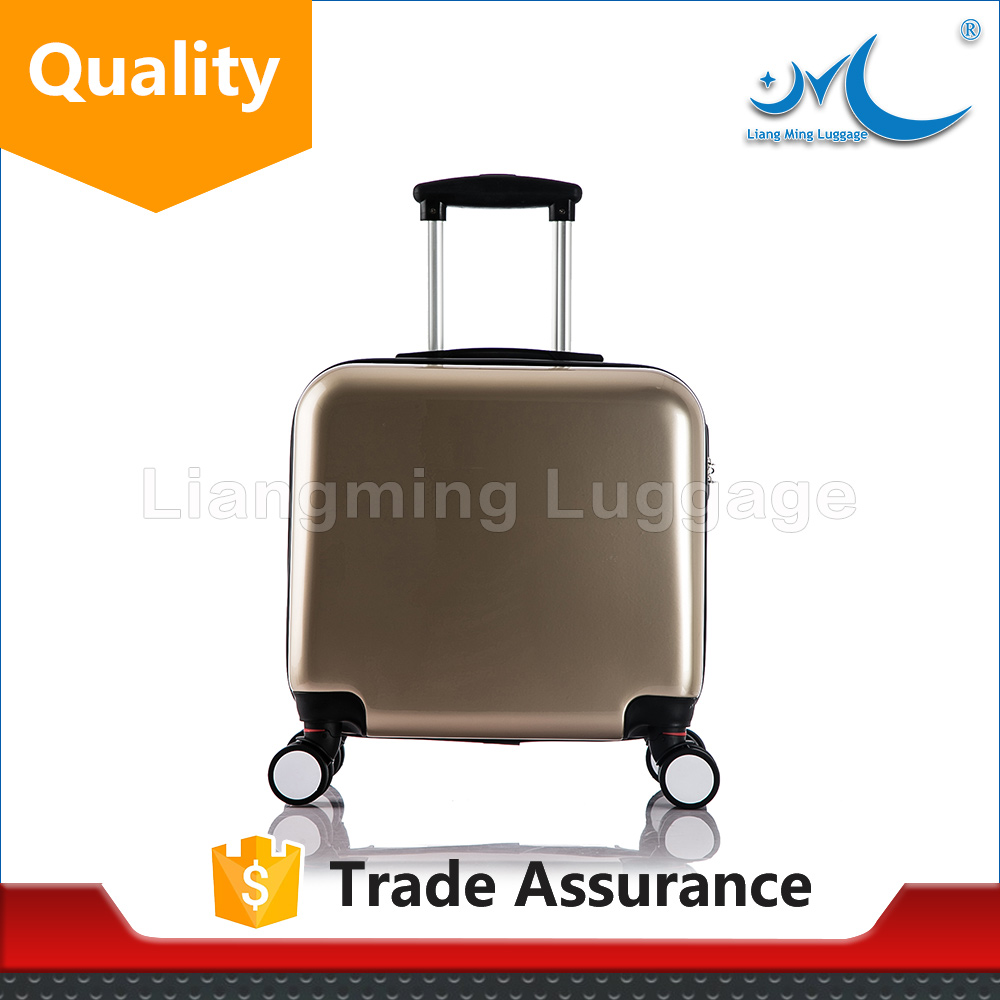 clear hand luggage trolley bags