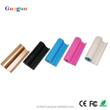 Guoguo top sales free gift mobile phone holder 2200mAh portable bluetooth speaker power bank