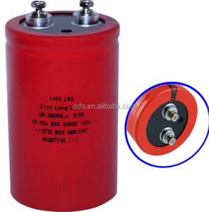 Screw Terminal Electrolytic Capacitor 3900UF 350V 63.5*125MM