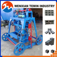 Widely used TM4-50 Small Manual Mobile concrete Block Making Machine Durable simple cement Brick molding Machine in low price
