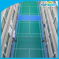 Promotion environmental floor for badminton court