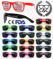 FREE Sample, Custom logo sunglasses Logo printing on lenses promotioneyeglasses
