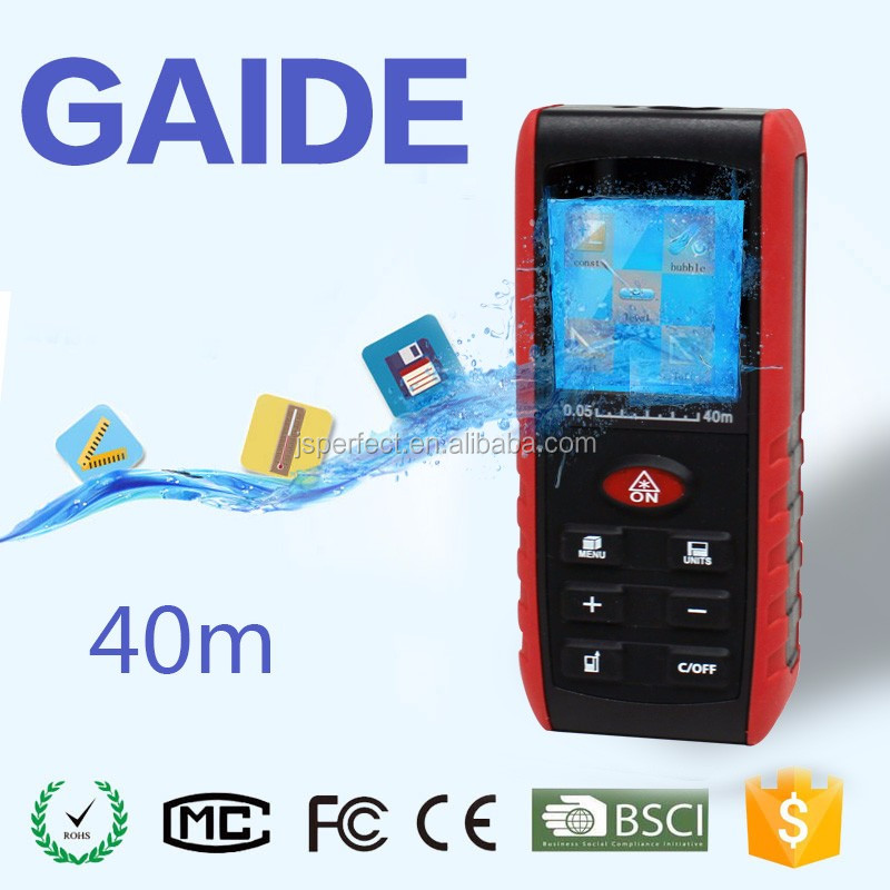 40m handheld outdoor mini point to point laser measure prices OEM
