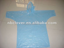 promotion disposable with logo transparent waterproof pe rain poncho
