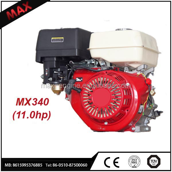 Water-cooled 4 Stroke Engine Mini Gasoline 340cc Engine