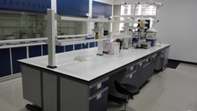 China Machinery Engineering Wuxi metal island lab benchLaboratory furniture lab island table/wall bench