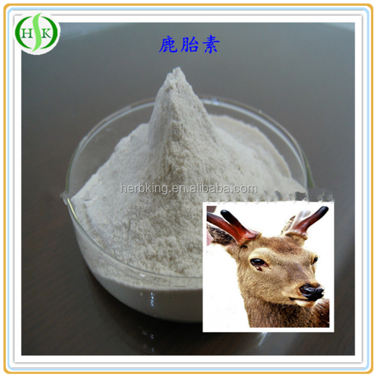 Health care product material Deer extract 98% Deer Placenta