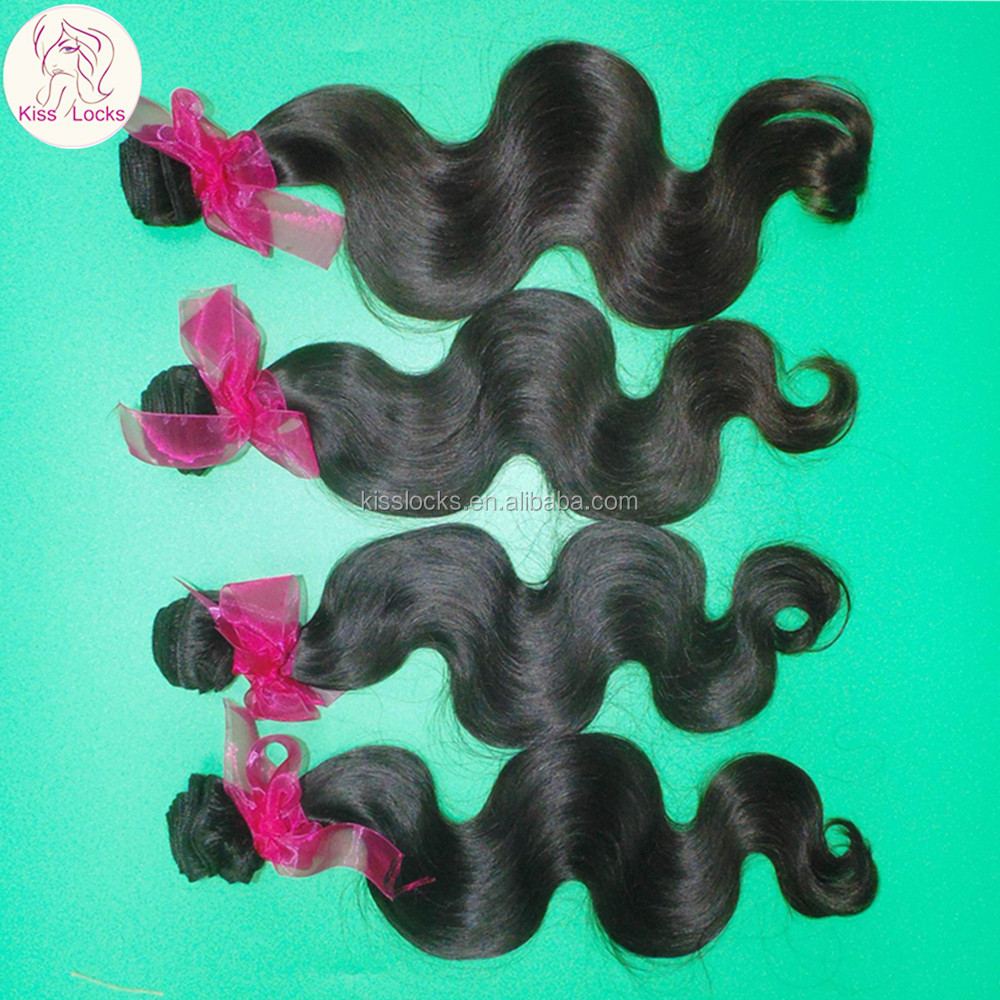 Fast Business Hair Extension Good Supplier Virgin Brazilian,Malaysian,Mongolian Body Wave Wefts black hair products distributors