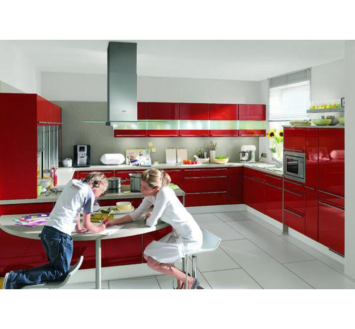 High end modern design italian custom wood country kitchen ,red kitchen cabinets,painting kitchen cabinets