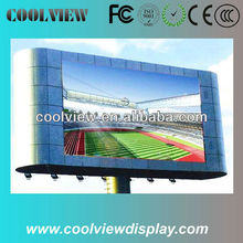 P10 10000 dots 7000cd outdoor advertisement video led display