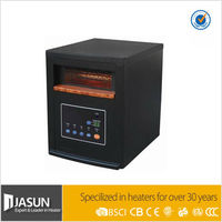 Hot sale Black Wooden Cabinet 1000W 5120BTU Portable Room Heater