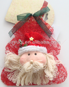 current Christmas Santa Claus head