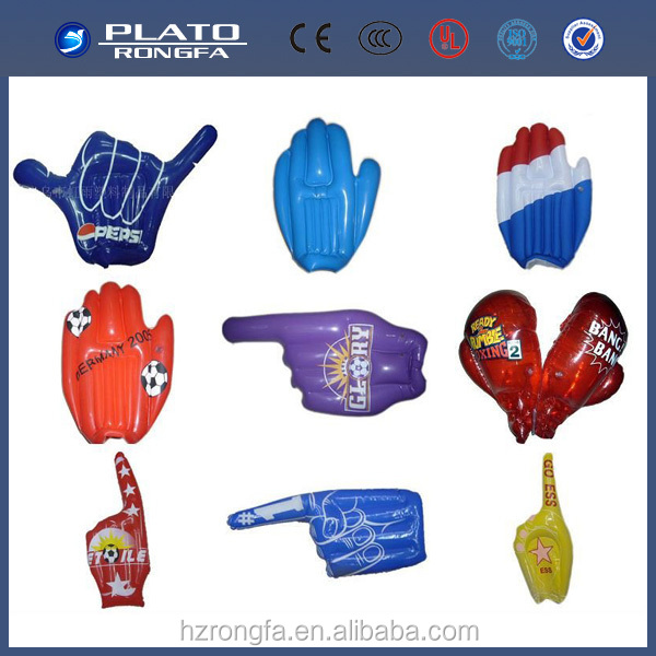 inflatable cheering hand customized