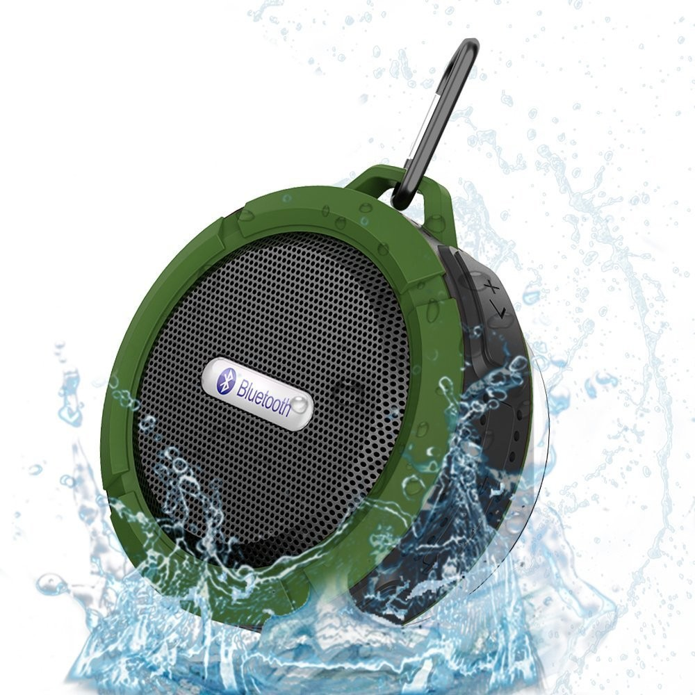 OEM IPX7 Bluetooth Shower Speaker C6 waterproof bluetooth speaker with Suction Cup