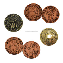 Custom Engrave Replica Souvenir Coins Coin Operated Old Coins