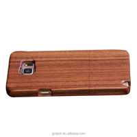 Walnut Wood Smart Phone Case for Samsung Note5,Wooden Cell Phone Cover for Samsung Note5,Mobile Phone Accessories