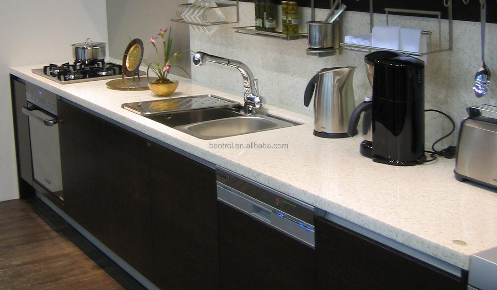 Nice Quailty Elegant Mdp With Marble Solid Surface Top Kitchen Table