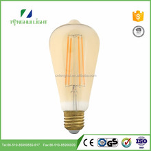 China supplier 360 degree st64 led filament bulb light best price
