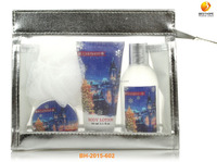 Christmas silver mesh bag body shop products