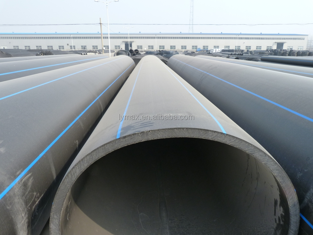 Large Plastic Drain Pipe Plastic Pipe 600mm For Sewer