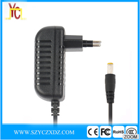 AC/DC EU 5V 2.5A 12.5W black power adapter use for Router wifi micro USB charger switching power supply