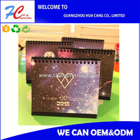 Professional Printing Desk/Table Calendar made in china with good quality