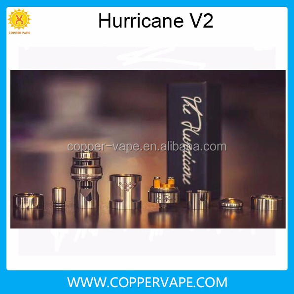 2017 new hurricane v2 in stock Cheap & top quality hurricane junior new 2.0 by coppervape