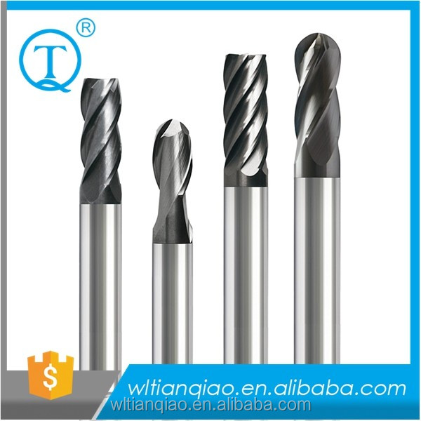 End Mill /solid Carbide End Mills With Straight Shank / Cnc Solid Tungsten Carbide Endmill