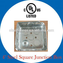 knockout junction box with different depth