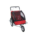 2in1 Double Child Baby Bike Trailer and Stroller , CE Certificate Passed
