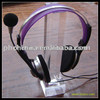 TSD-A214 Factory custom acrylic headphone stand holder/plastic headset holder/acrylic earphone holder
