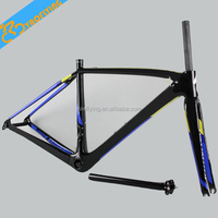 Free shipping!! SL5 700C road bicycle lightweight frame chinese bike frame carbon bicycle frames